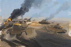 Centurion vs T-55, 6 October 1973