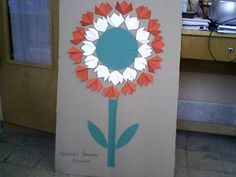 Cute Crafts, Spring Crafts, Winter Time, Techno, Kids Room, Flowers, Hungary, Celebrations, Classroom