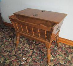 Bon Ethan Allen Dough Box Table
