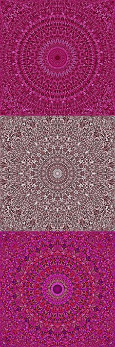 Buy 12 Pink Floral Mandala Seamless Patterns by DavidZydd on GraphicRiver. 12 seamless floral mandala pattern backgrounds in pink tones DETAILS: 12 JPG (RGB files) size: 12 geometr. Mandala Pattern, Mandala Design, Mandala Art, Bohemian Art, Bohemian Backdrop, Boho, Pink Tone, Pink Patterns, Repeating Patterns