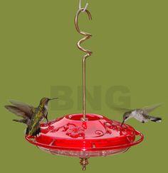 New hummingbird feeder made in Michigan GARDEN IDEAS