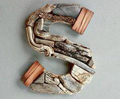 Lettres en bois de mailleself sur lettrage - Lettre decorative metal ...