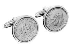 10 Year Anniversary Gift- Tin Gift -2003 Cufflinks-Mint coins used worldcoincufflinks,http://www.amazon.com/dp/B00CS5J9RK/ref=cm_sw_r_pi_dp_bZwasb0Z9Q0XPPYZ
