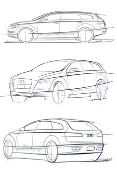 OG | Audi A6 Avant | Design sketch dated 2002 More