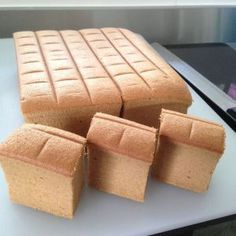 Gula Melaka (Palm Sugar) Ogura Sponge Cake