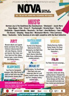 Nova Festival of Arts & Music  www.novafestival.co.uk/