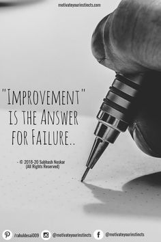 Improvement is the answer to failure. Work Ethic Quotes, Hard Work Quotes, Words Quotes, Me Quotes, Sayings, Ethics Quotes, Lack Of Motivation, Do What Is Right, Good Morning Quotes