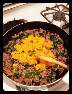 "Whoreders: DIY Homemade Dog Food & a recommendation ""I also recommend chopping hard boiled eggs into the finished dinner. If you cook the eggs before hand, crush the egg shell as much as possible and add it to the food. Your recipe lacks calcium they need for their bones (hence the egg shells). My vet recommended this when I started cooking for my dogs."""
