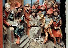 Bild: 9106405 (9106405.jpg). Motiv: Kristus inför Pilatus. Foto: Lennart Karlsson