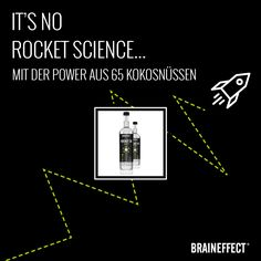 It's no rocket science... Unser ROCKET C8 MCT Öl! Fett, Science, Oil, Chemical Structure, Blood Glucose Levels, Mct Oil, Flasks, Flag