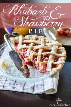 ... Pie Please on Pinterest | Pie recipes, Strawberry rhubarb pie and Pies