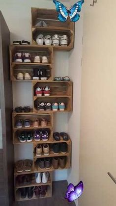 Today we are going to show you some nice ways to add your shoe collection ... - Cheap Decorating İdeas#add #cheap #collection #decorating #ideas #nice #shoe #show #today #ways<br> Bedroom Storage, Diy Storage, Garage Storage, Diy Bedroom, Creative Storage, Closet Storage, Storage Headboard, Storage Design, Cheap Storage