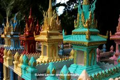 Cambodian Spirit Shrines