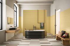 BOLD   WHITE - Ceramic tiles from Marca Corona   Architonic Geometric Patterns, Graphic Patterns, Color Mate, White Wall Tiles, Italian Tiles, Wall Cladding, Estilo Retro, Sustainable Design, Interior Design Living Room
