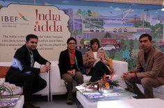 Team IBEF at #IndiaAdda #wef14 Day 2 For More #IndiaAdda Images Visit: http://www.india-at-davos.ibef.org/gallery/India-Adda-2014-Image-Gallery