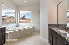 The Elena master bath-St. George Utah