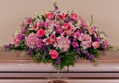 beautiful casket sprays | English Garden Casket Spray - Nanz and Kraft Florists - Louisville ...