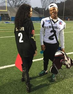 Find images and videos about love, cute and couple on We Heart It - the app to get lost in what you love. Football Relationship Goals, Black Relationship Goals, Couple Goals Relationships, Couple Relationship, Family Goals, Goals Football, Football Season, Relationship Quotes, Football Boyfriend