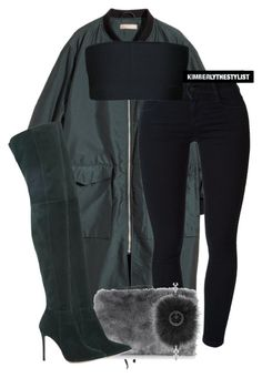 """""""Untitled #2563"""" by whokd ❤ liked on Polyvore featuring H&M, STELLA McCARTNEY, Balmain, Oasis, Gianvito Rossi and Fendi"""