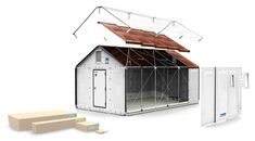 Ikea's flat-pack refugee shelters go into production