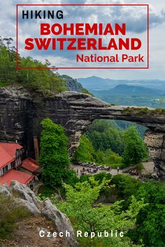 Hiking in Czech Republic is an incredible way to explore the country. Make sure you head north to do some hiking in Bohemian Switzerland National Park - it will take your breath away. #czechrepublic #hikinginczechrepublic #hiking