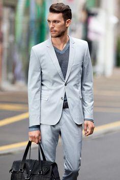 Strellson Premium, Street View Zürich #businesswear #suit #strellson