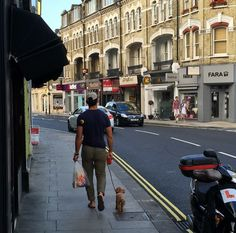 Dirty Love — David Gandy & Alfie out for a Sunday stroll. ...
