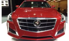 2014 Cadillac CTS name Motortrend Car of the Year