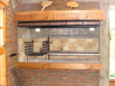 An outdoor kitchen can be an addition to your home and backyard that can completely change your style of living and entertaining. Earlier, barbecues temporarily set up, formed the extent of culinary attempts, but now cooking outdoors has become an. Outdoor Barbeque, Outdoor Oven, Outdoor Cooking, Barbecue Design, Grill Design, Asado Grill, Bbq Grill, Bbq Kitchen, Outdoor Kitchen Design