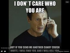 I hate candy crush!