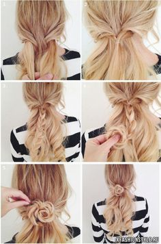Easy, So-Pretty Hairstyles You Can Do in Under 5 Minutes: Here are our favorite fast hairstyles for short hair, long hair, and everything in between. Fast & Easy Hairstyle For When You're Running Late 5 Minute Hairstyles, Fast Hairstyles, Braided Hairstyles Tutorials, Wedding Hairstyles, Summer Hairstyles, Braided Crown Hairstyles, Homecoming Hairstyles, Everyday Hairstyles, Ponytail Hairstyles