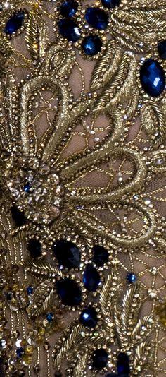 haute couture dress couture couture dresses couture kleider couture rose couture rules New embroidery dress haute couture elie saab Ideas Floral Embroidery Patterns, Couture Embroidery, Embroidery Fabric, Embroidery Fashion, Beaded Embroidery, Embroidery Designs, Couture Embellishment, Crazy Quilting, Couture Details