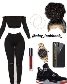 Sweet Jordan 4 outfit idea, Best Picture For swag outfits tomboy For Your Taste You Swag Outfits For Girls, Boujee Outfits, Cute Swag Outfits, Teenage Girl Outfits, Cute Outfits For School, Teen Fashion Outfits, Dope Outfits, Pretty Outfits, Outfits With Jordans