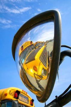 School bus photography.