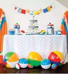 Fiestas Infantiles De La Playa Y La Piscina   Fiestas infantiles y cumpleaños de niños