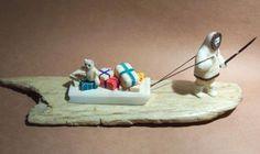 Walrus Ivory Snowmen