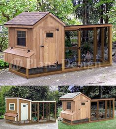 Chicken Coop with Lean-to Kennel, Two in One Combo Project Plans (Instructions) in Pet Supplies, Backyard Poultry Supplies Cheap Chicken Coops, Diy Chicken Coop Plans, Chicken Coup, Portable Chicken Coop, Best Chicken Coop, Building A Chicken Coop, Chicken Runs, Simple Chicken Coop, Chicken Coop Pallets
