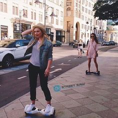 #Urban Cruising on the #StreetSaw v6.5 #hoverboards in the #city ! Get your #balancescooter