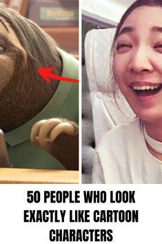50 People Who Look Exactly Like Cartoon Characters