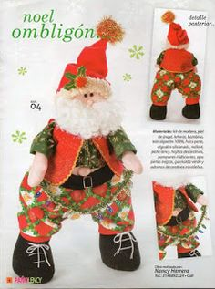 REVISTA PAÑO LENCY FIELTRO NAVIDAD 241 Christmas Stockings, Christmas Ornaments, Maya, Holiday Decor, Bb, Baby Dolls, Christmas Crafts, Holiday Ornaments, Art Journals