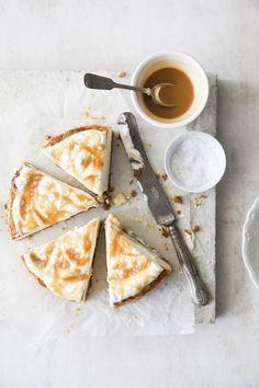 Salted caramel cheesecake http://sannakekalainen.com/