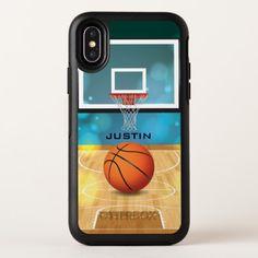 Basketball Design OtterBox Symmetry iPhone X Case