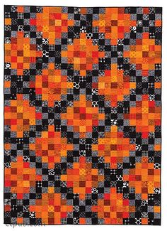 = free pattern = Spice quilt from Festive Fall Quilts by Kim Schaefer - C&T Publishing