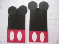 ... At Studio D: How to make Mickey Mouse Treat Goodie Bags
