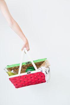 DIY Watermelon Picnic Basket + Foodadz, Tools for Food | Studio DIY®