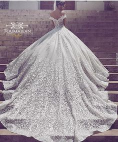 """544 Likes, 24 Comments - Toumajean Couture (@toumajeancouture) on Instagram: """"#Toumajean_Couture Spring-Summer 2016 #Wedding #collection photo by Saidmhamad Queens Plaza…"""""""