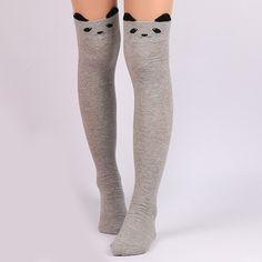 Cute Panda Cartoon Thicken Winter Leg Warmer