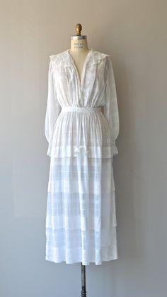 Tea in Savannah dress antique Edwardian dress by DearGolden