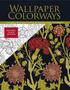 Wallpaper Colorways Classic Patterns Are The Perfect Subject For Adult Coloring Offering A Wide