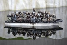 Banksy's Dismaland - The New York Times Part of an installation at Dismaland.